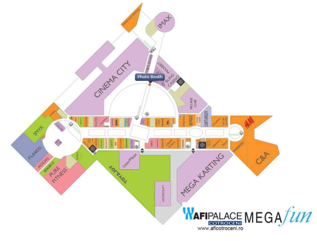Harta Harta Afi Palace Cotroceni