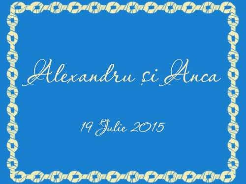 Alexandru și Anca