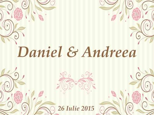 Daniel & Andreea