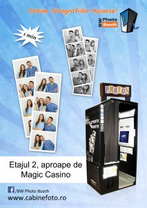 Cabina BW Photo Booth in Mega Mall Bucuresti