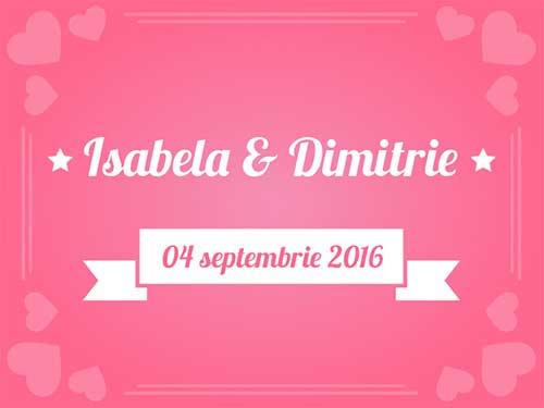 Isabela & Dimitrie