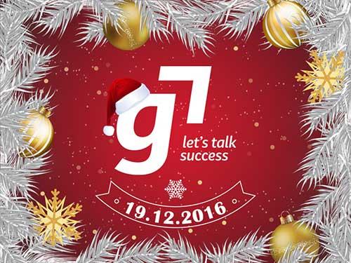 G7 – Petrecere Crăciun