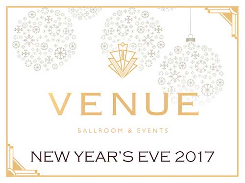 VENUE – New Year's Eve 2017