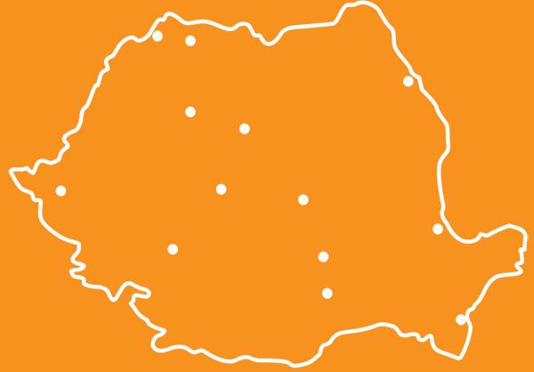 Harta locatii BW Photo Booth in Romania