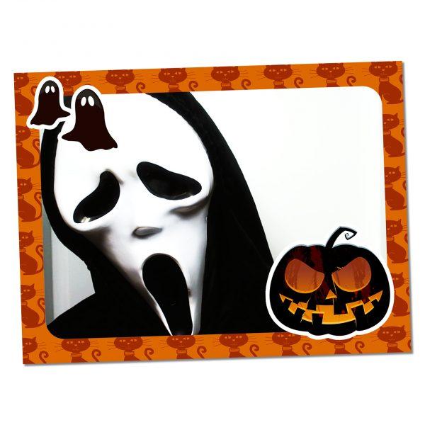 Frame-urile de Halloween atrag cei mai neașteptați clienți