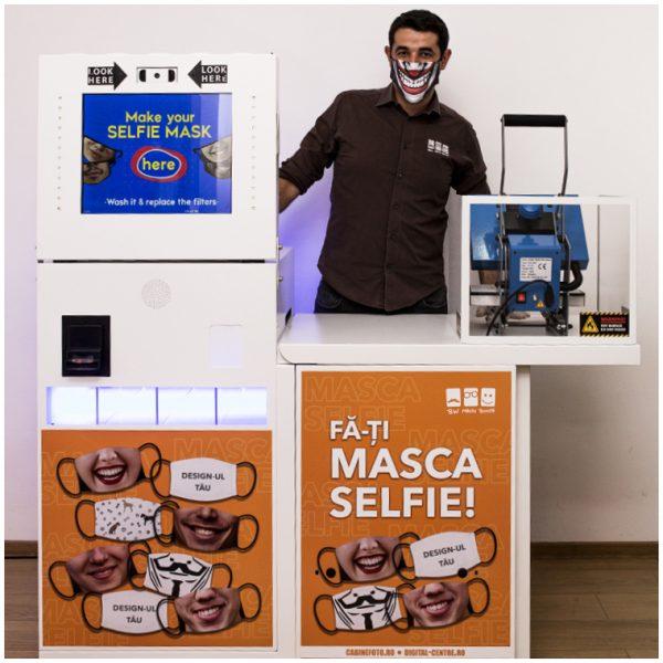Cabina foto BW Selfie Mask