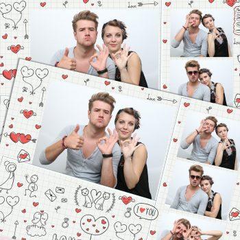 Cadou Valentines Day și Dragobete – Foto Love Frames